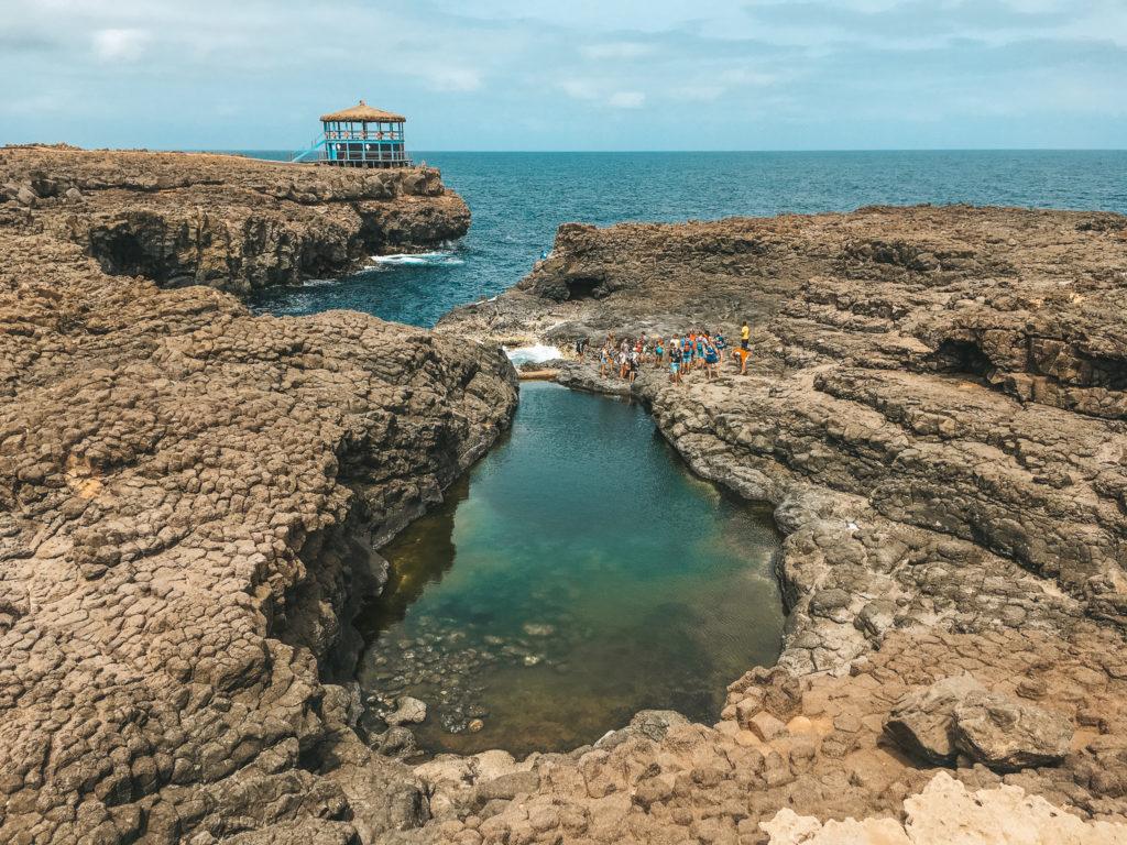 Słone baseny Buracona i Błękitne Oko - Cape Verde