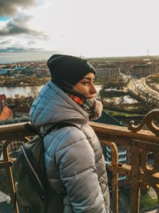 Widok z wieży Kościoła Najświętszego Zbawiciela w Kopenhadze